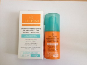 Collistar - Collistar Active Protection Sun Face Cream SPF 50+ Special hypersensitive skin Anti-wrinkle & anti-brown spot Water resistant - упаковка